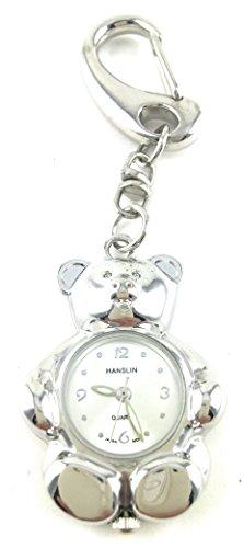 Hanslin Quartz Bear Key chain Watch