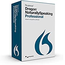 Dragon NaturallySpeaking Professional 13.0, US English, Smart Upgrade from Premium 11 and Up (Old Version)