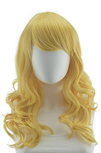 Epic Cosplay Hestia Butterscotch Blonde Curly Wig 22 Inches(08RBSB)