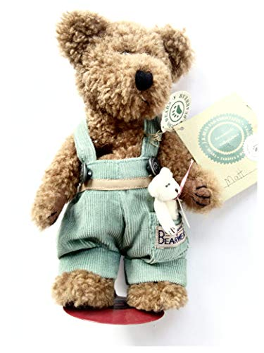 Investment Collectables Boyds Bears Matt and Friend with Doll Stand 1998 Plush from Investment Collectables