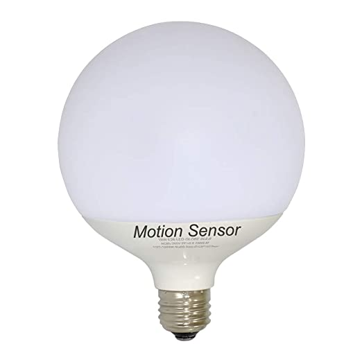 Amazon.com: Bombillas LED con sensor de movimiento, 18 W ...