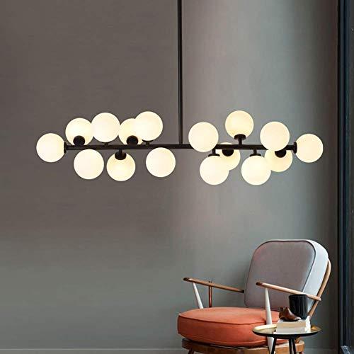 Modern Chandelier Round (Modern Modo 16 Round Glass DNA LED Chandelier Pendant Lamp Ceiling lamp Fixture)