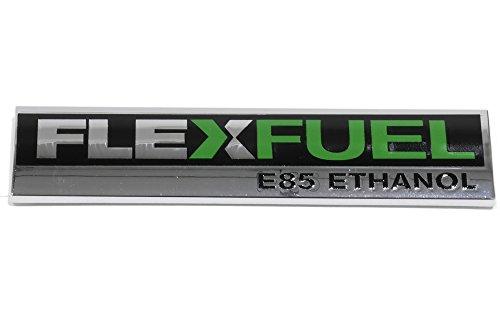 OEM NEW Trunk Lid Flex Fuel Emblem Nameplate 09-15 Buick Chevrolet GMC 20903626