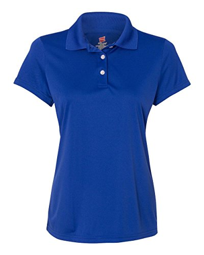 New Womens Polo (Hanes Women's Cool Dri Sportshirt, XX-Large, Deep)