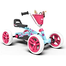 BERG Toys Girls Buzzy Bloom Kids Pedal Go Kart for 2 to 5 Year Olds 2 to 5