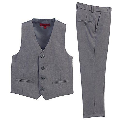 Boys gray vest pants investment property joint names for boys