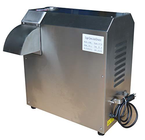 - Four Rolls Electric Sugar Cane Ginger Press Juicer 110V