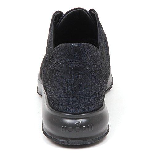 Interactive Hogan Woman Sneaker blu E4254 Shoe Scarpe Donna qPpZAw4