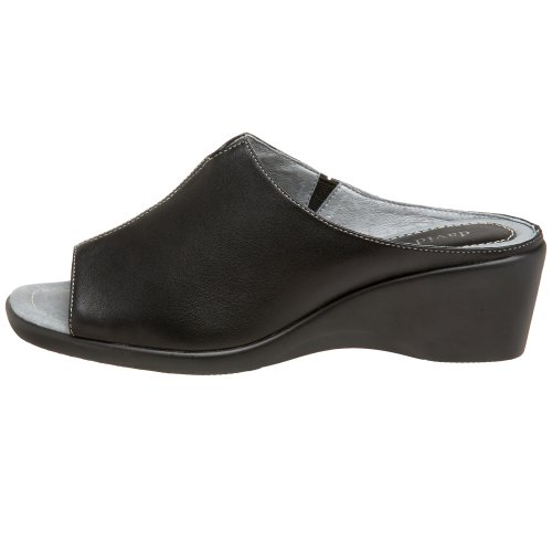 David Tate Women's Gloria Slide Sandal,Black Lamb,7 M US by David Tate (Image #5)'