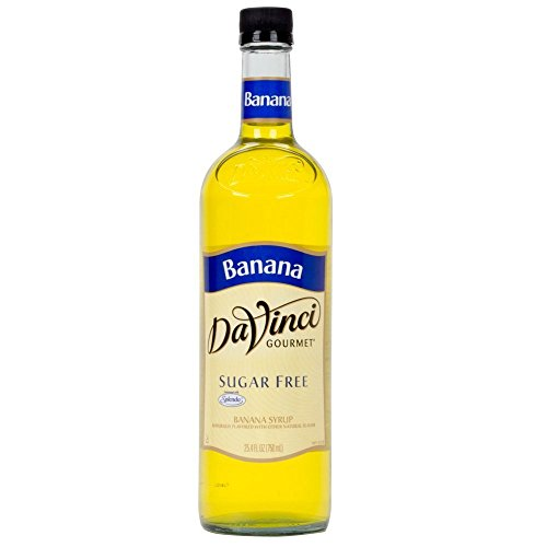 - DaVinci SUGAR FREE Banana Syrup w/ Splenda 750 mL