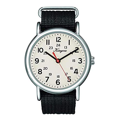 Military Army Watches for Men,Mitiy Sport Watches,Casual Watchs,Round Dial Nylon Strtap Wrist Watch,Stainless Steel Analog Quartz Watch Relojes De Hombre