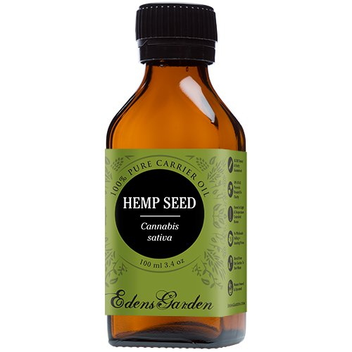 Hemp-Seed-100-Pure-Carrier-Base-Oil-34-oz-100-ml-by-Edens-Garden