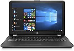 """HP 15-bs001 Portátil de 15.6"""", Intel Celeron N3060(2b), 4GB RAM, 500GB HDD, Windows 10, Gris"""