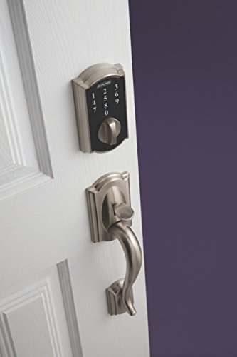 Schlage Touch Camelot Deadbolt (Satin Nickel) BE375 CAM 619