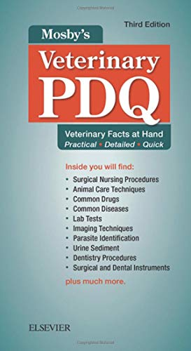 Mosby's Veterinary PDQ: Veterinary Facts at Hand - http://medicalbooks.filipinodoctors.org