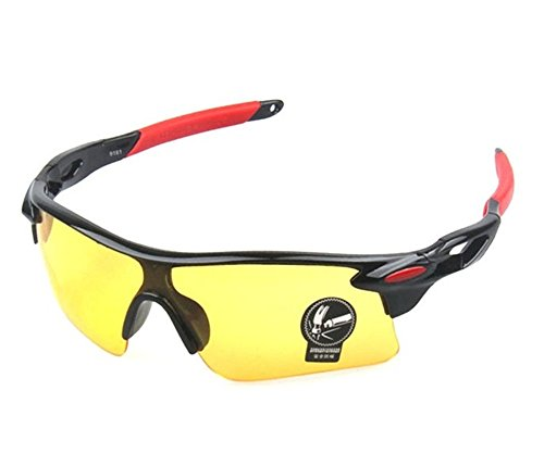 274e970502 Mcolics Men s HD Night View Driving Glasses Polarized Anti-glare Rain Day Night  Vision Cycling Nighttime Day Sunglasses - Buy Online in Oman.