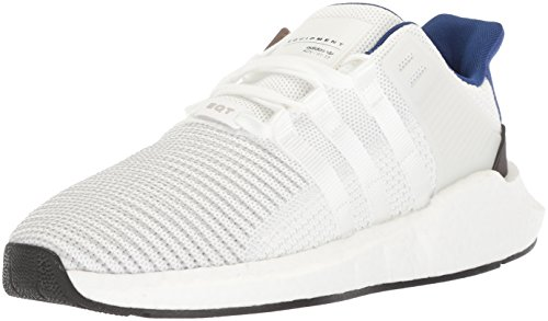 adidas Originals Men's EQT Support 93/17 Running Shoe White/White/Black 11 M US