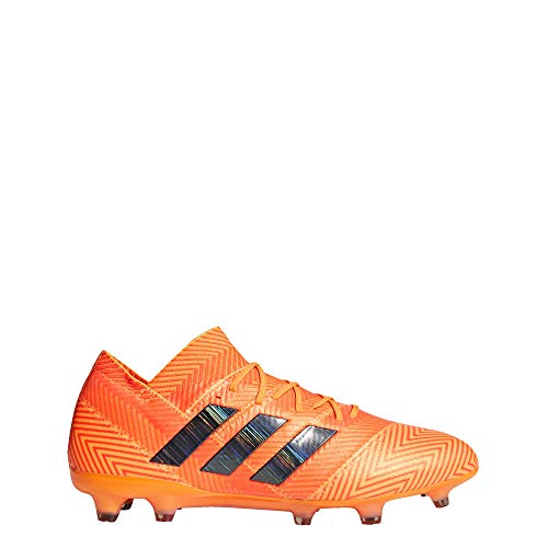adidas Nemeziz 18.1 Firm Ground Cleats Men's, Orange, Size 10.5