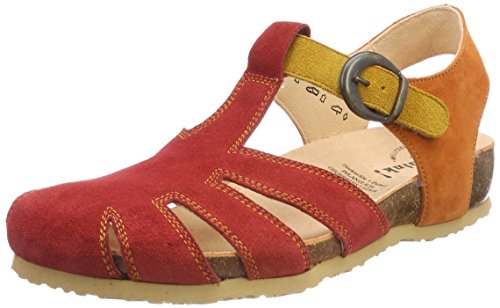 rosso 72 Rosso 72 282343 Kombi Red kombi 282343 Pensare 72 Julia rosso Gladiator 72 Sandals Think Gladiatore Julia Rosso kombi Rosso Sandali Femminile Women's Kombi zfqWy0