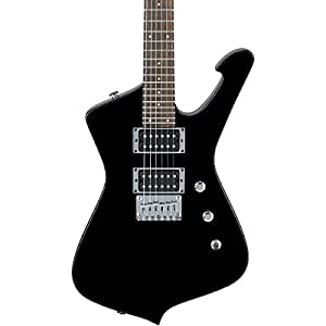ibanez gicm21 mikro electric guitar black night musical instruments. Black Bedroom Furniture Sets. Home Design Ideas