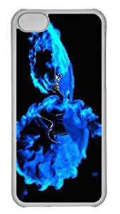 Customized iphone 5C PC Transparent Case - Tenghost Personalized Cover by runtopwell