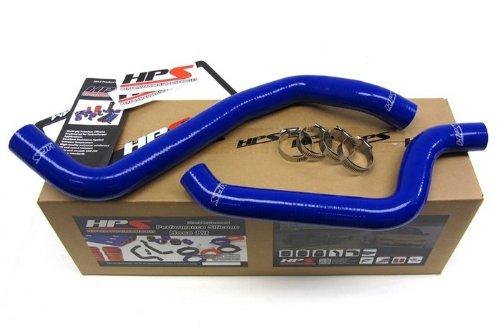HPS 57-1079-BLUE Silicone Radiator Hose Kit for Dodge Stealth DOHC