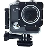 O RLY FCsquare Action Sport camera cam Full HD 1080p 720p Video Photo bike helmetcam water sport waterproof