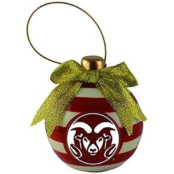 LinksWalker Colorado State Rams Snowflake Ornament