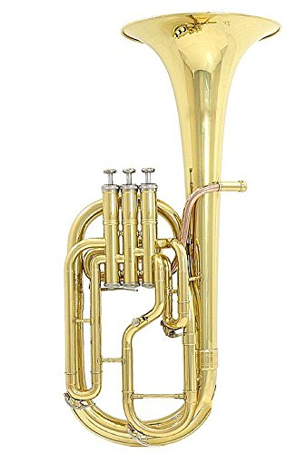 Valkyrie 822L3+1 Standard Level Baritone Horn, Gold by Valkyrie