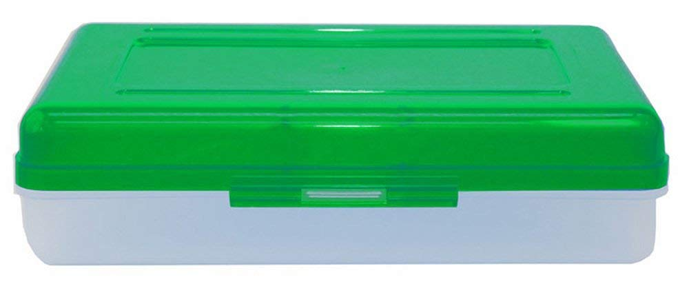 Advance Products Plastic School Box, Assorted Colors