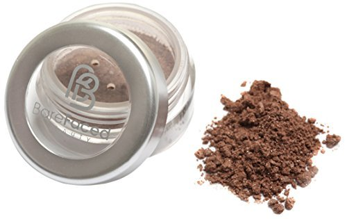 BareFaced Beauty Natural Mineral Eye Shadow 1.5 g, Brown ...