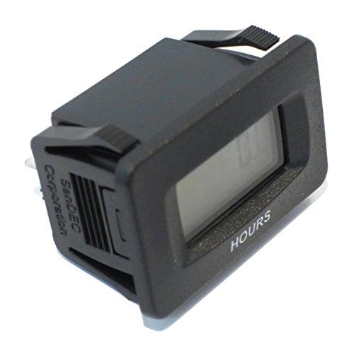 The ROP Shop Universal SENDEC Digital Hour Meter for Rotary 10408 fits AYP Husqvarna Mowers