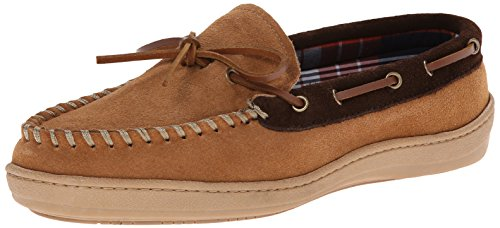 Clarks Men's Moccasin Slipper - Cinnamon Cowsuede - 8 D(M...