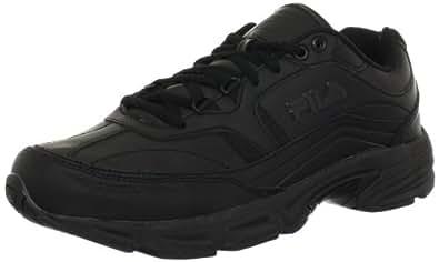 Fila Men's Memory Workshift Cross-Training Shoe,Black/Black/Black,6.5 M US