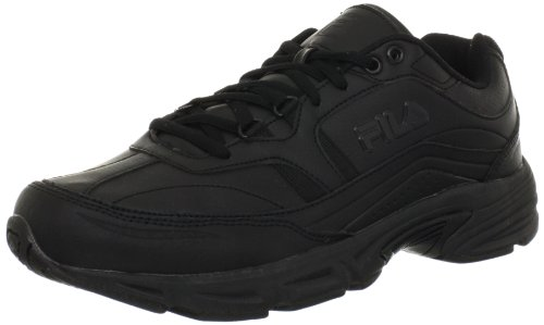 Fila Men's Memory Workshift Cross-Training Shoe,Black/Black/Black,7.5 4E US