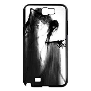 Deathly Hallows Samsung Galaxy N2 7100 Cell Phone Case Black gift pp001_9451238