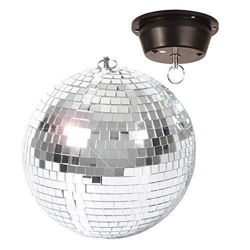 BeamZ 151 333 200mm Espejo esfera giratorio discoteca - Accesorio de discoteca (Espejo, Espejo, 20 cm)