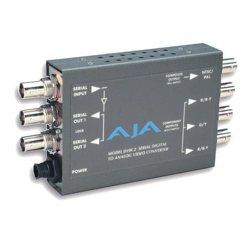 AJA D10C2 SDI to Analog Component 10-bit Analog Converter