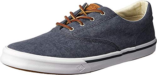 Sperry Men's Striper II Cvo Sneaker, Navy, 7
