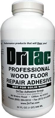DriTac 32 Fl Oz. Professional Wood Floor Repair Adhesive