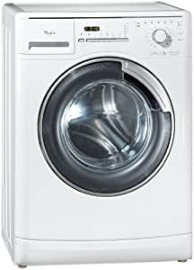 Whirlpool AWM 8000/PRO - Lavadora (Independiente, Color blanco, Frente, 8 kg, 1200 RPM, A)