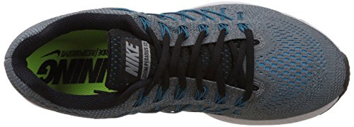 Nike Air Zoom Pegasus 32 Scarpe da Ginnastica, Uomo Cool Grey/Black-blue Lagoon