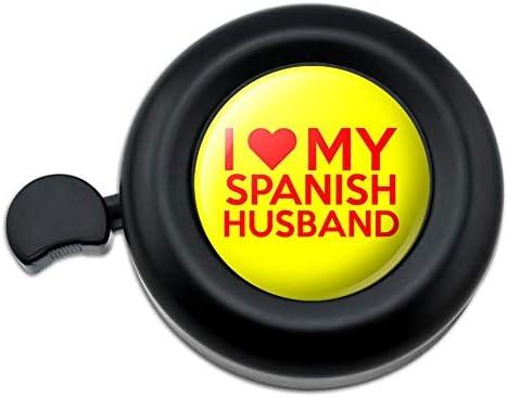 私は私のスペイン人の夫を愛しています自転車ハンドルバー自転車ベル