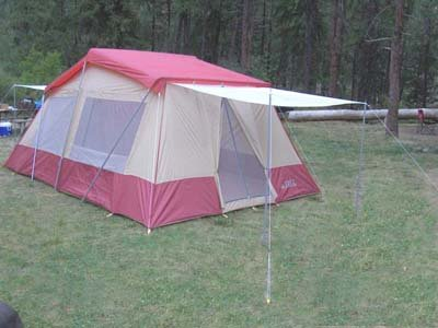 16 X 10 3 Room Family Cabin Tent With Full Wrap