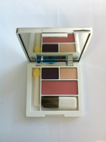 Clinique Colour Surge Eye Shadow Duo/two Shades From Come Heather Trio 0.04oz/1.2g Soft-pressed Powder Blusher 0.06oz/1.7g Surge Eye Shadow Duo