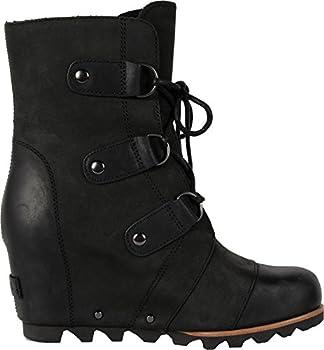 Sorel Women's Joan Of Arctic Wedge Booties, Black, 10 B(m) Us 2