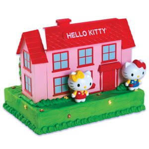 Hello Kitty House Cake Decorating Kit -