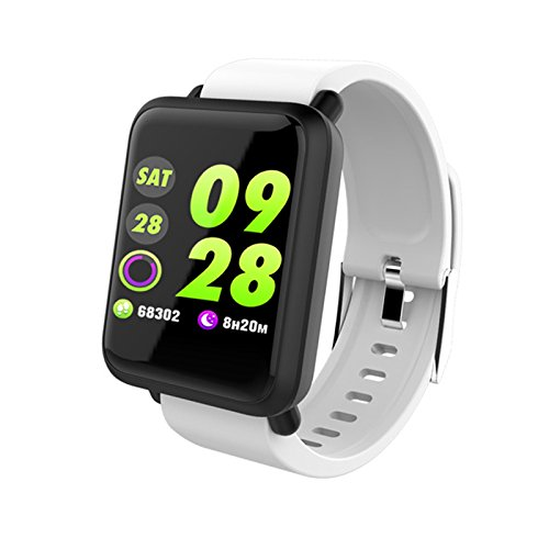 Amazon.com : TOOGOO M28 Smart Watch Big Screen Heart Rate ...