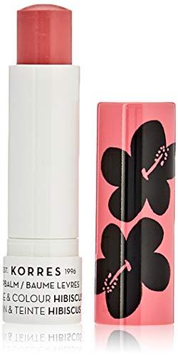 Korres Care & Colour Lippenbalsam, Hibiscus,1er Pack (1 x 14 g)