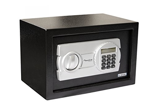 American-Furniture-Classics-HS250-Digital-Home-Safe-with-LCD-Display-Powder-Coated-Black